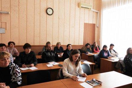 Навчання за програмою спеціалізованого короткострокового навчального курсу: «Забезпечення надання соціальних послуг в об'єднаних територіальних громадах в умовах децентралізації»