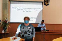 Навчання державних службовців управління Державної служби якості освіти
